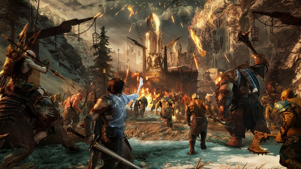 Image result for middle earth shadow of war