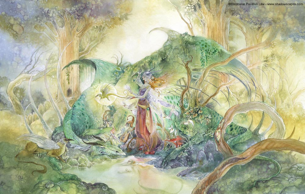 Shadowscapes The Art Of Stephanie Law