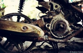 Remains of a Bike