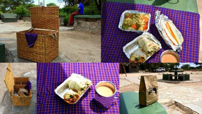 tanzania safari lunch
