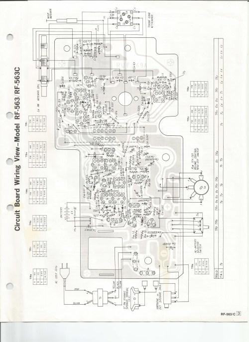small resolution of  radio schematic diagram panasonic rf 563 am fm radioparts layout