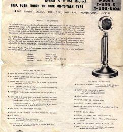 the cb radio talk forum astatic d104 base microphone info d 104 6 wire d 104 wiring to ham radio [ 1104 x 1452 Pixel ]