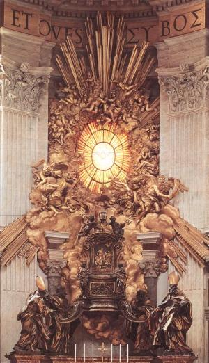 Bernini_The_Throne_of_Saint_Peter_1657-66