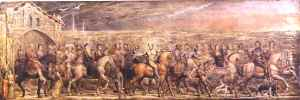 Blake_Sir_Jeffery_Chaucer_and_the_Nine_and_Twenty_Pilgrims_on_their_Journey_to_Canterbury_1808