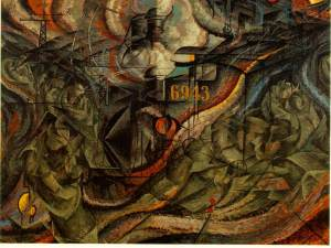 Boccioni_States_of_Mind_The_Farewells_1911