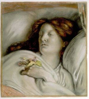 Brown Convalescent Portrait of Emma Madox Brown 1872
