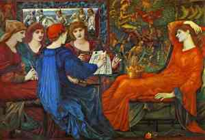 Burne Jones Laus Veneris 1870