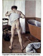 Caillebotte_Man_at_his_Bath_1884