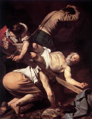Caravaggio_The_Crucifixion_of_St_Peter_1600