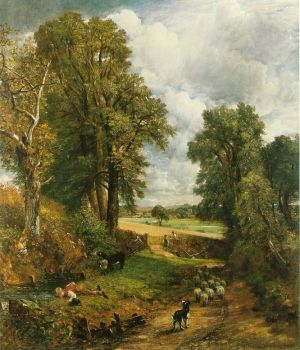 Constable_The_Cornfield_1826