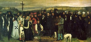 Courbet_A_Burial_at_Ornans_1849
