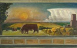 Curry_sketch_for_Kansas_Pastoral_1937