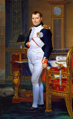 David_The_Emperor_Napoleon_in_His_Study_at_the_Tuileries_1812