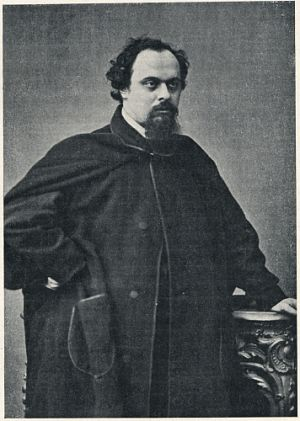 Downey Rossetti photo 1862