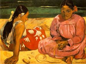 Gauguin_Tahitian_Women_-_On_the_Beach_1891