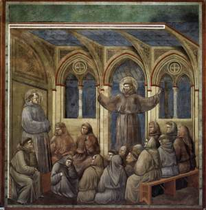 Giotto_Assisi_upper_church_Apparition_at_Arles
