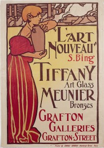 grafton gallery art nouveau poster 1899