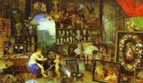 Jan Brueghel the Elder and Peter Paul Rubens. Allegory of Sight.