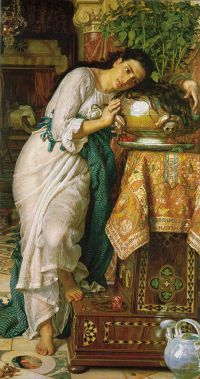 Hunt Isabella and the Pot of Basil 1876