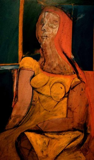 Kooning_Queen_of_Hearts_1946