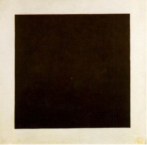 introduction to modern art - malevich black square 1913