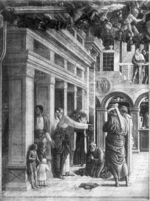 Mantegna_St_James_Baptizing_1452