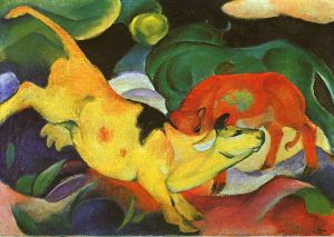 Marc_Cow_Yellow_Red_Green_1912