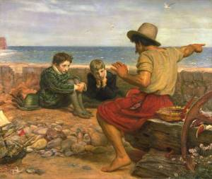 Millais Boyhood Of Raleigh 1870