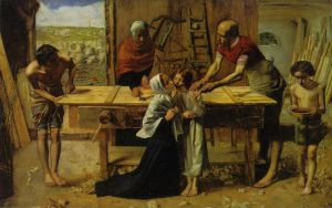 Millais Christ in the House of His Parents_1849