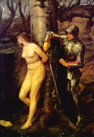 Millais_John_Everett_The_Knight_Errant