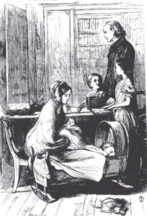Millais_The_Crawley_Family