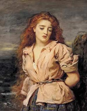 Millais The Martyr of the Solway 1871