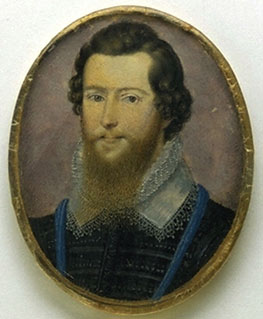 Isaac Oliver, Earl of Essex, c1596