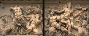 Pergamon_Altar_of_Zeus_East_Frieze