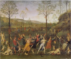 Perugino_Battle_of_Love_and_Chastity_1505