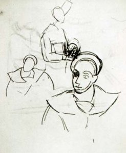 Picasso_Sailor_study_1907