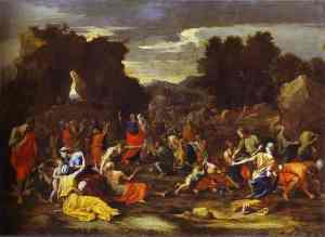Poussin_The_Israelites_Gathering_the_Manna_1639