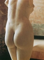 Praxiteles_Aphrodite_of_Cnidos_rear_view
