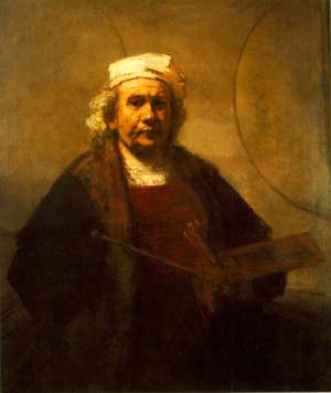 Rembrandt Self-portrait 1661
