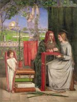 Rossetti The Girlhood of Mary Virgin 1848-9
