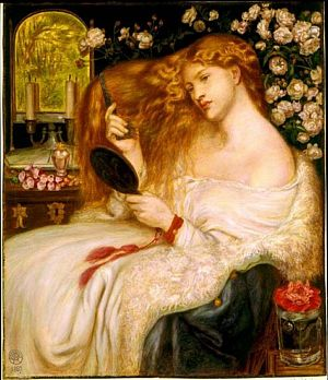 Rossetti Worldly Beauty 1867