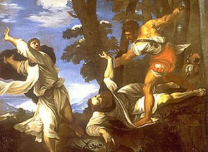 Titian_Martyrdom_of_St_Peter_Martyr_lost_Loth