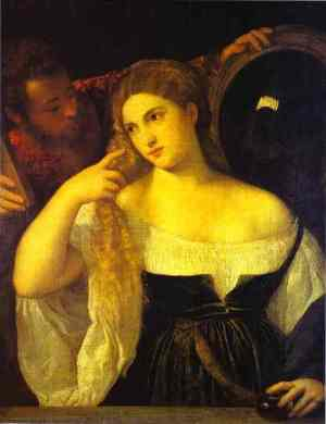 Titian, Young Woman at Her Toilet, 1515