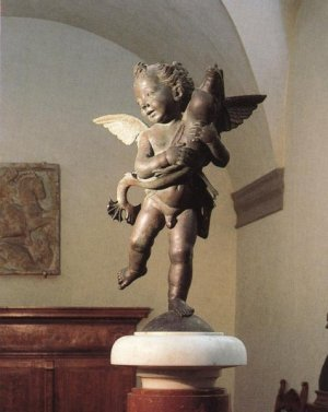 Verrocchio_Putto_with_Dolphin