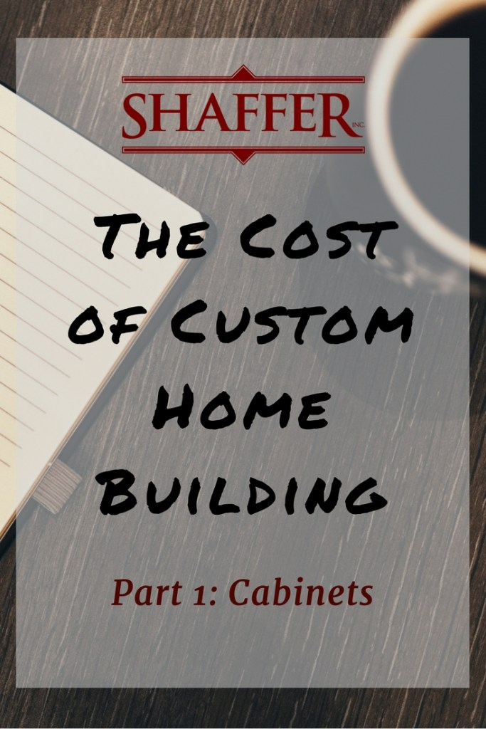 Vancouver, Washington - Custom Home Building - Cabinets
