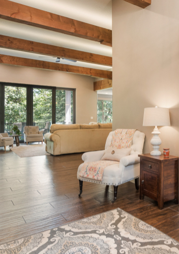 Shaffer Inc. Contemporary Timber Custom Home 2