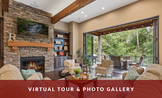 Contemporary Timber Custom Homes Clark County Virtual Tour & Photo Gallery