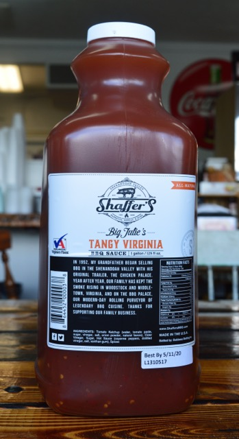 virginia tangy bbq sauce