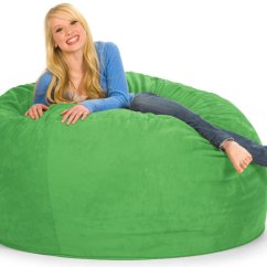 Green Bean Bag Chair Peir One Chairs Big Daddy 5 Shaggybag Furniture Store Online Home Theater