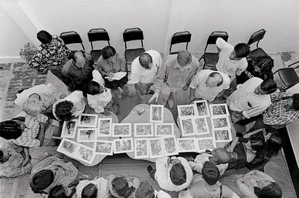 Pathshala class by Reza Deghati. Photo by Abir Abdullah